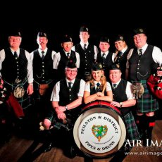 The Neilston and District Pipe Band