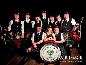 Neilston & District Pipe Band-Neil Drover Agency