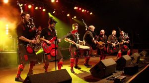 Red Hot Chilli Pipers at Neil Drover Agency