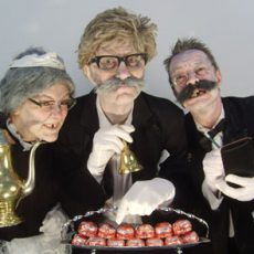 Mischief La Bas as the Decrepit Butlers