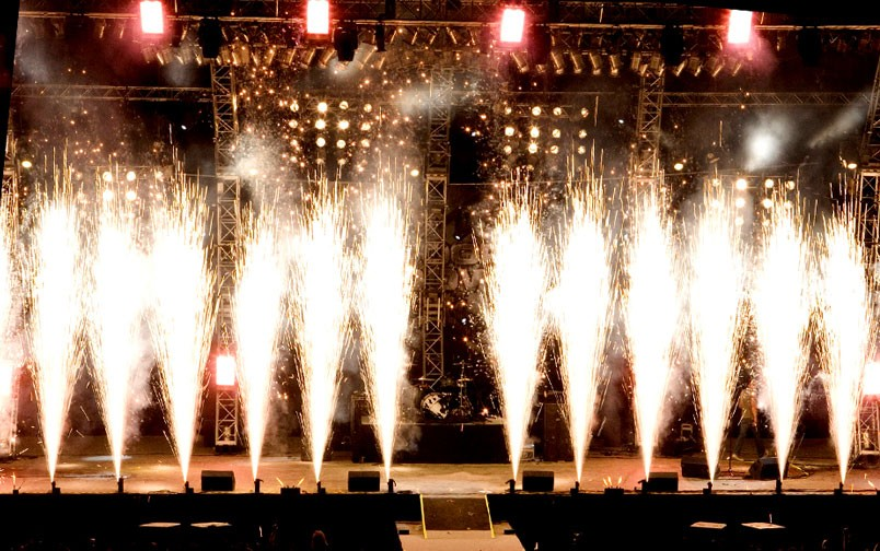 Hire Indoor Pyrotechnics For Your Event
