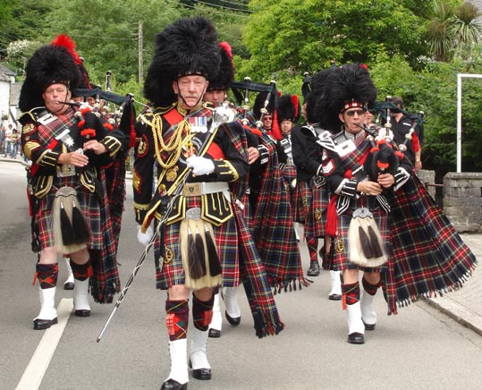Pipers & Bag Rock Bands