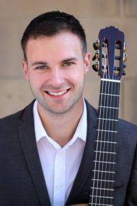 Classical Guitarist Steven Joseph -Neil Drover Agency